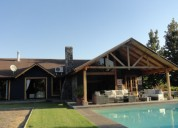 Hermoso adorable chalet sector club de polo curico maule