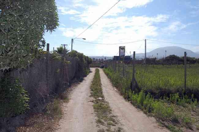 sitios a 500 metros del Faro, La Serena, entre carretera y mar