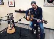 Clases de canto y guitarra personalizadas stgo centro