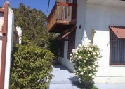 Casa litoral central isla negra amoblada