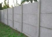 Se realizan reparacion y construccion de cierros perimetrales