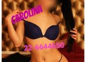 Carolina sensual masajista te espera hoy
