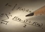 Clases particulares de estadística, econometría, álgebra, cálculo, microeconomía, optimización
