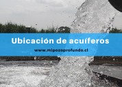 Perforación de pozos profundos, video y mantencion de pozos de agua subterránea