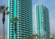 Arriendo dpto mensual 2d frente a playa brava piso 3 iqq