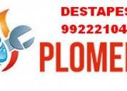 Gasfiter urgencias destapes 24 horas colina chamisero 9922221040