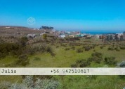 Terreno pichicuy 2000mt2 c/vista al mar