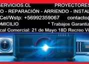 Servicio técnico reparación proyectores data show viewsonic epson nec sanyo sony benq samsung acer