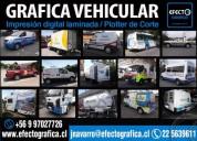 Autoadhesivos vehiculares branding y ploter de corte, contactarse.