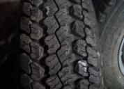 4 neumáticos con llantas originales para mitsubishi l 200