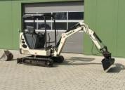 Excavadora terex tc 16