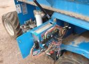 Plataforma de tijera diesel 4x4