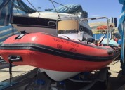 Bote nuevo semi-rÍgido c/ motor fuera de borda