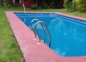 Se arrienda parcela con casa y piscina diario