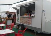 Excelente carro de comida food truck