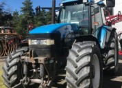 Excelente new holland 8160, alhué