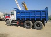 Excelente camion tolva mack 6x4 2011, san bernardo