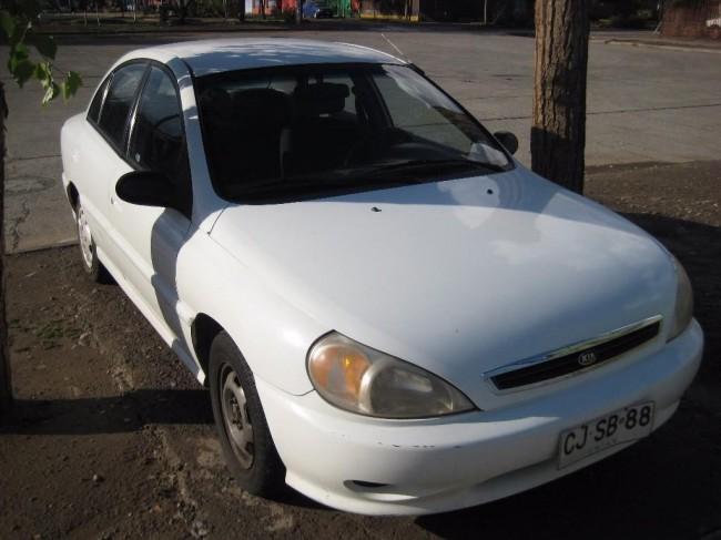Vendo Excelente  Kia Rio Automático 2002, Rancagua