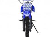 Motocicleta enduro de 125cc