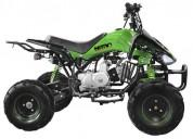 Cuatrimoto de 125cc aro 7 atv color verde