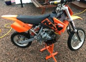 Motocross ktm 65sx rapido