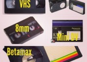 Traspaso cintas de video a formato dvd.