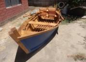 Bote de madera, modelo sport prime