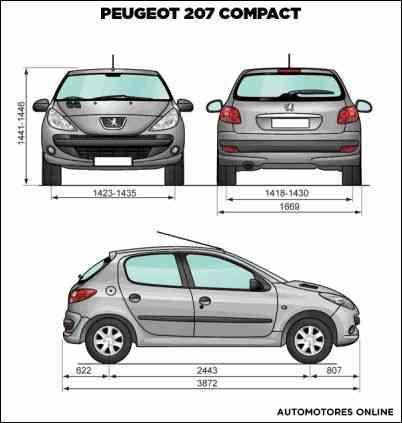 Peugeot 207 1.4 compact 2011