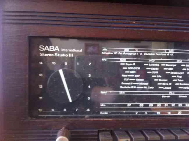 SABA international Stereo Studio III