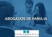 Abogados derecho de familia