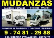 Mudanzas - embalajes - bodegajes - transportes .