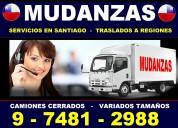 Mudanzas - embalajes - bodegajes - transportes