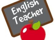 Se ofrecen clases de inglés a domicilio