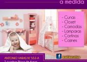 Muebles linea infantil