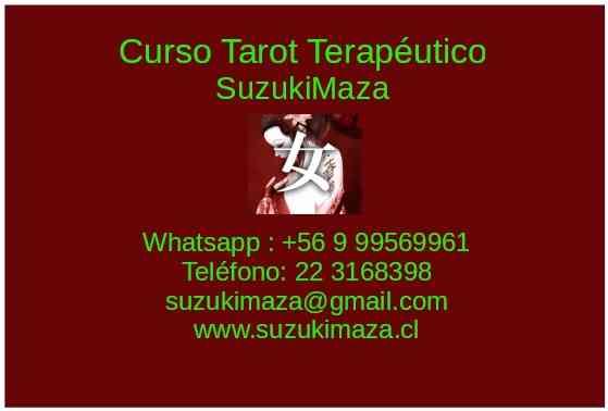 CURSO DE TAROT TERAPÉUTICO CON SUZUKIMAZA  EN LA COMODIDAD DE SU HOGAR U OFICINA CONSULTA GRATIS
