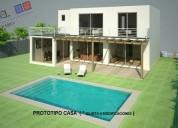 Casa nueva mediterránea, lomas de montemar, concón // vc446