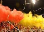 Extintores de color para eventos