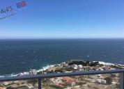 Departamento nuevo,vista al mar, costa de montemar- concÓn // vd356