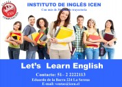 Instituto de inglÉs icen