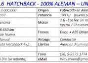 Opel astra 1.6  hatchback - 100% aleman – unico dueÑo