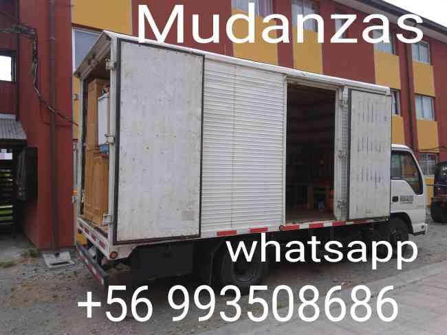 Servicio de Mudanzas,Fletes Todo Destino camión amplio 4TN