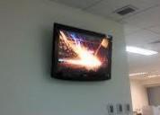 Soporte de pantallas tv en muros, stgo. cel. 973302977