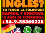 Traduccion de ingles a español y viceversa - profesor nativo 15 años de experiencia