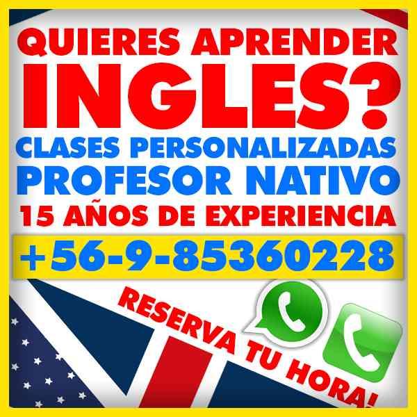 Aprende Ingles con Clases Entretenidas - Profesor Nativo con 15 Años de Experiencia