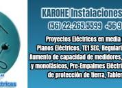 Electricista autorizado a domicilio 222-655-599