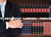Despido injustificado,demanda accidentes laborales