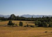Parcelas en excelente sector, vista al volcán