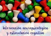 Consulta intervención neuropsicológica