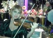 Profesora ofrece clases de violín a domicilio