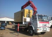 Certificacion operador pluma sobre camion